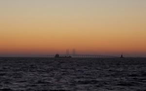 Krótko przed wschodem słońca.