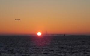 Most wschodzącego słońca.