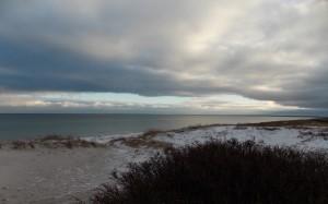 Uroki plażowych krajobrazów.