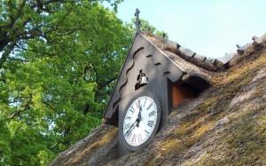 Stary zegar i jeszcze chodzi