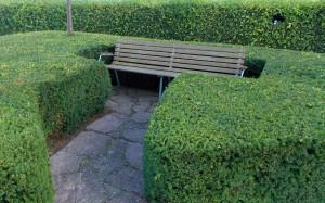 Ławka dla miłośników zieleni, Południowa Jutlandia