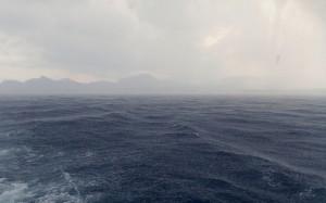 Gwałtowna burza na Morzu Egejskim