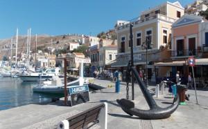 Port Simi w Grecji