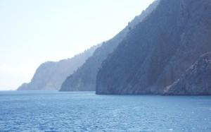 Skaliste wybrzeża wysp greckich
