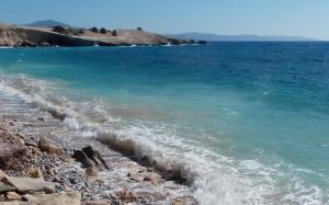 Turkusowy błękit morza