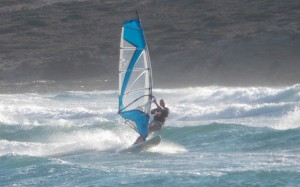 Prasonissi - raj dla surferów